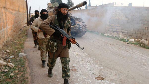 Des djihadistes syriens - Sputnik France