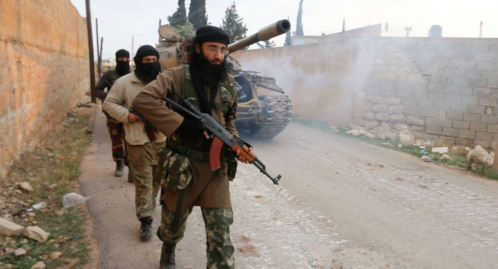 Des djihadistes syriens