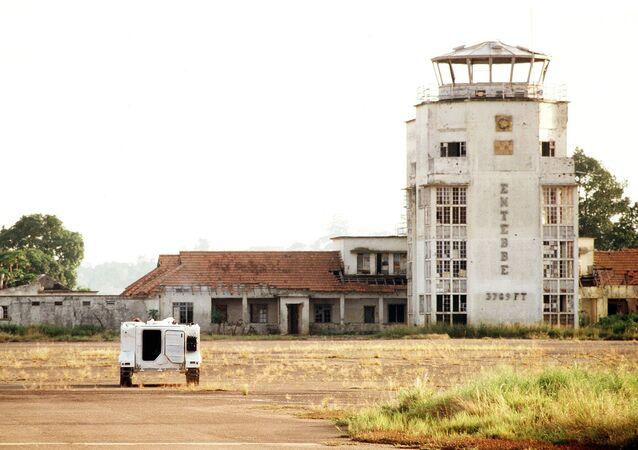 L'aéroport d'Entebbe