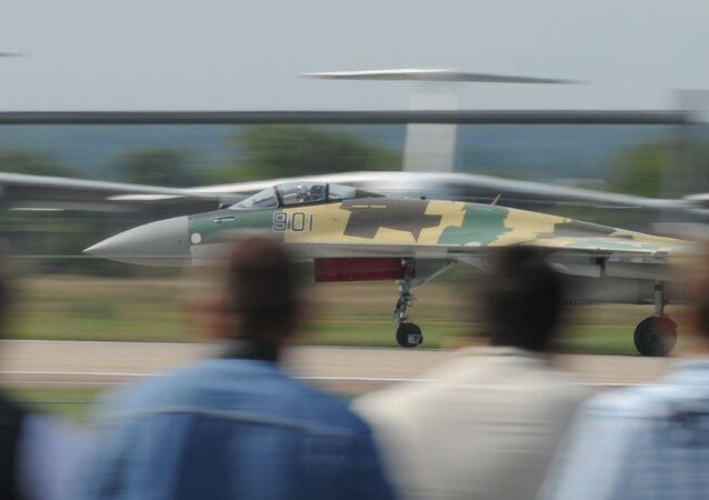 Un Su-35 lors d'un salon MAKS (archives)