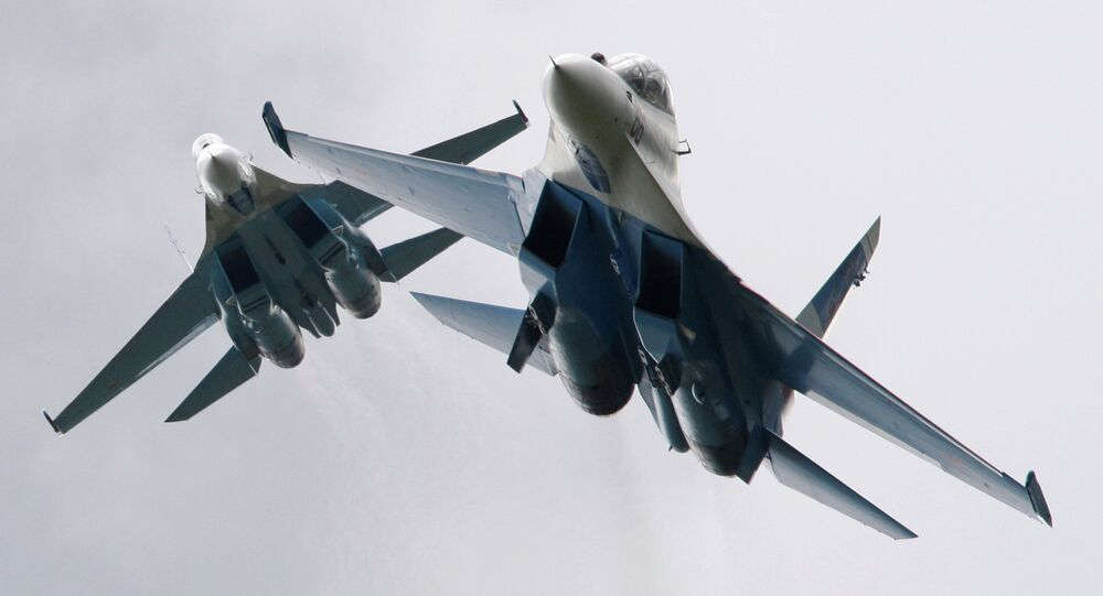 Chasseurs russes Su-27