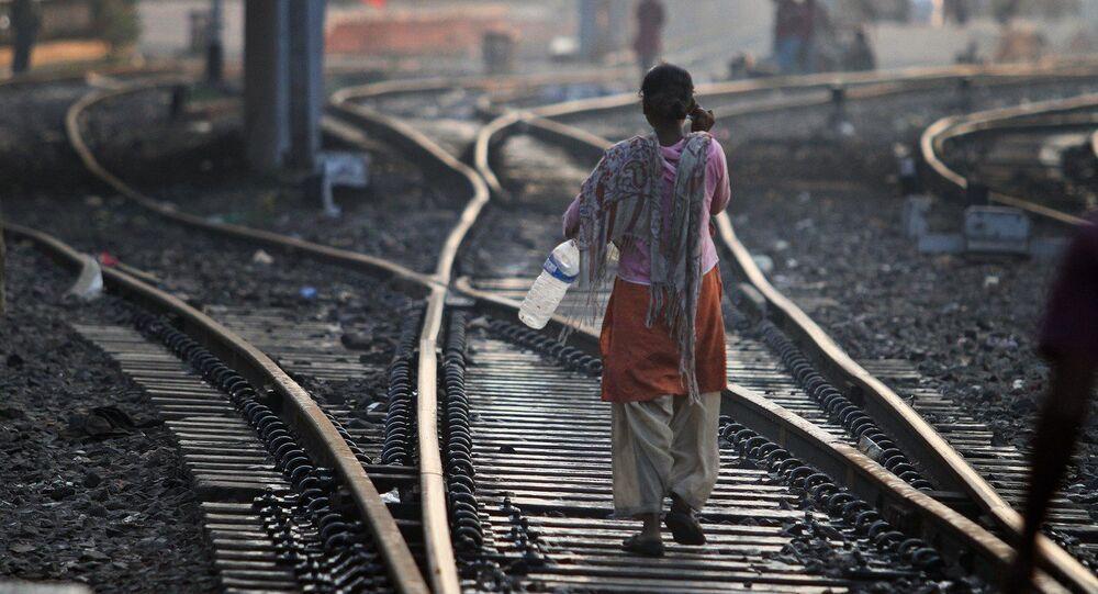Pauvreté. Inde. Image d'illustration