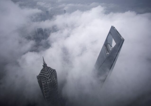 Jin Mao Tower et Shanghai World Financial Center