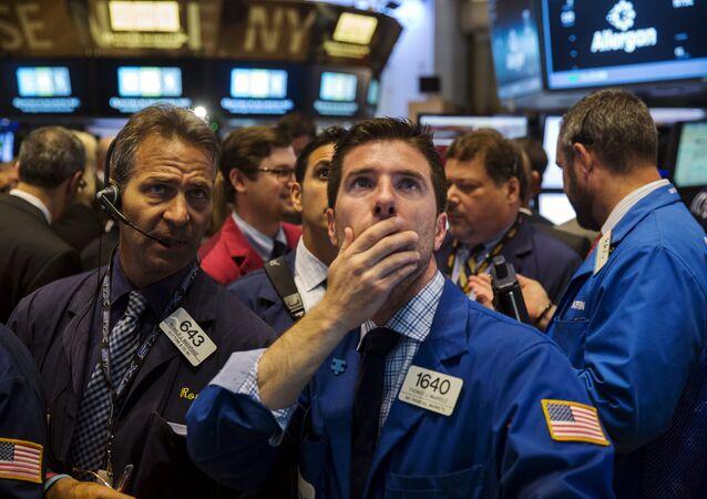Bourse de New York, juin 2015