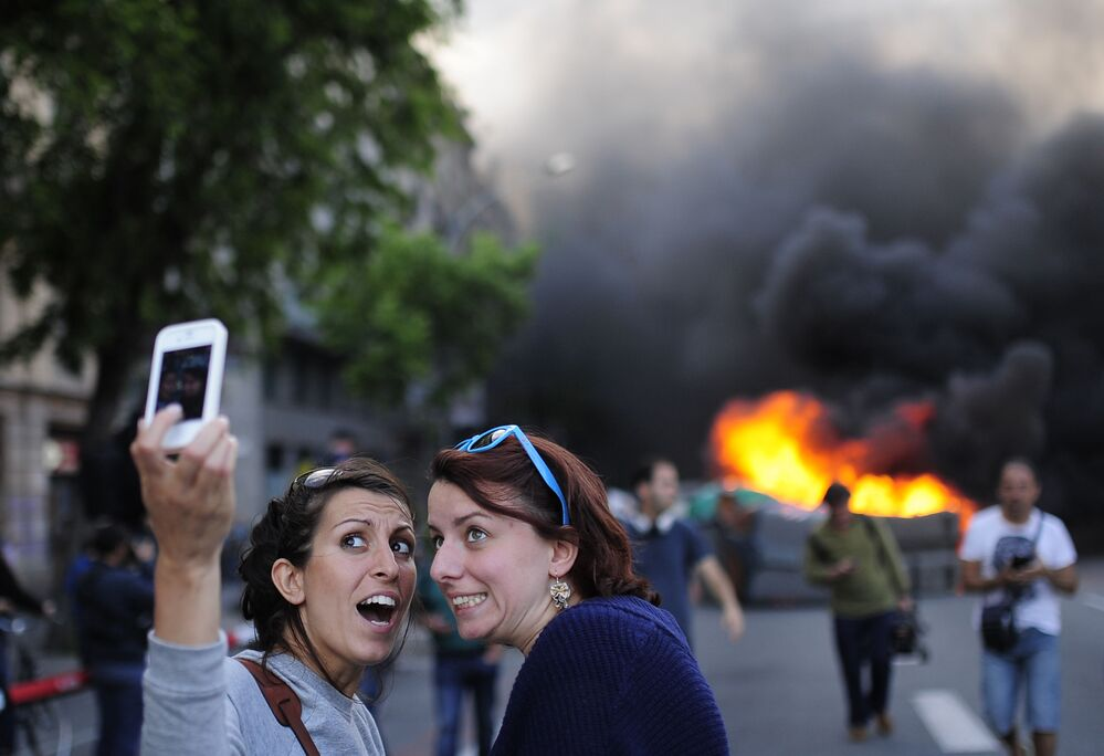 Dangereux selfies