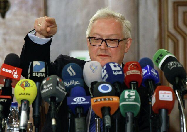 vice-ministre russe des Affaires étrangères Sergueï Riabkov