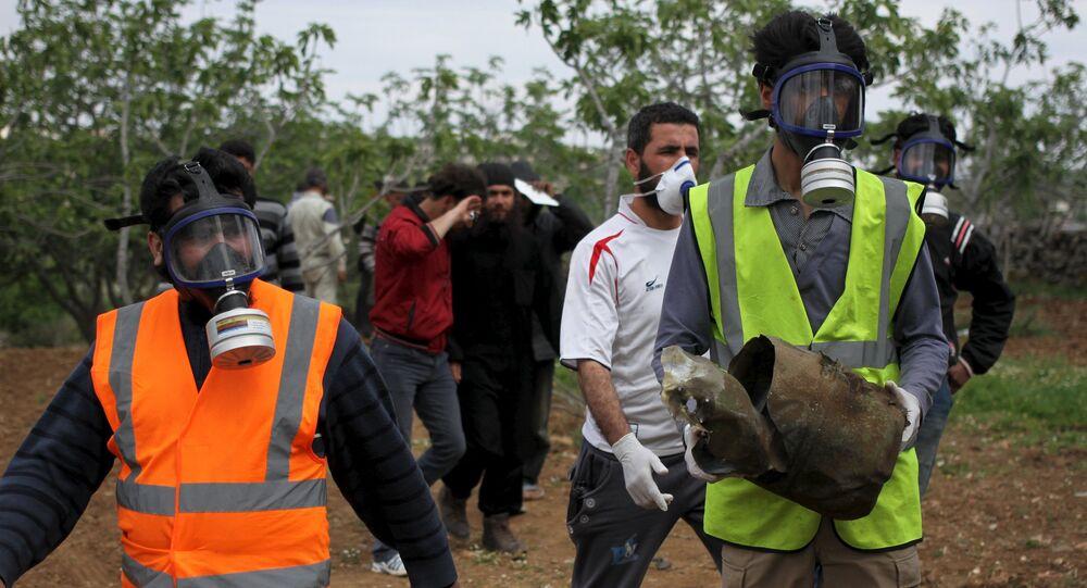Attaque chimique à Idlib en 2015