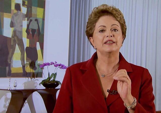 Présidente brésilienne Dilma Rousseff