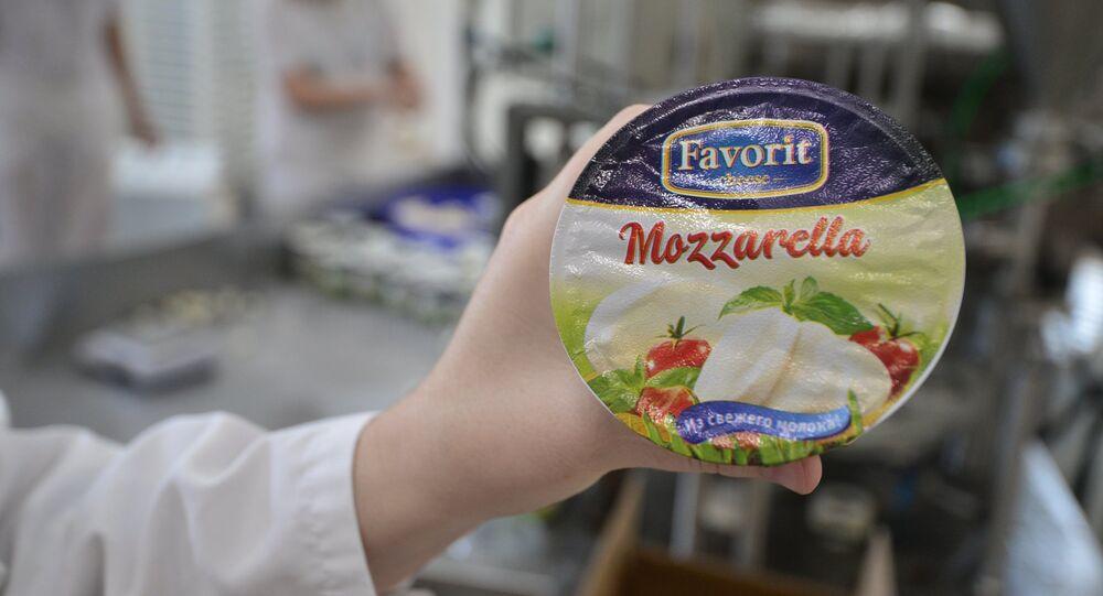 Mozzarella russe