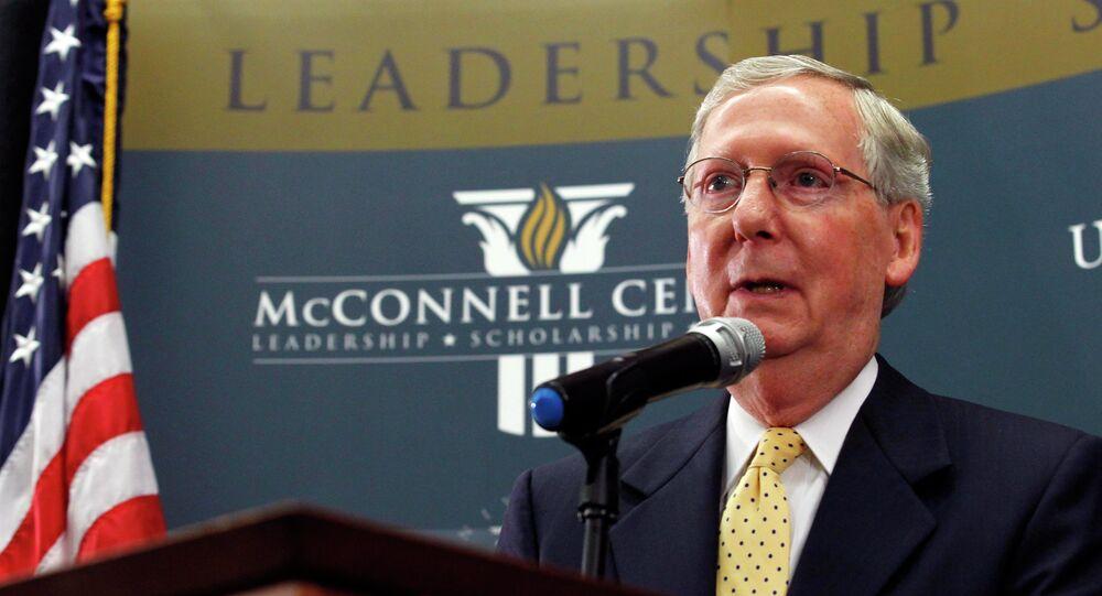 Le sénateur MItch McConnell