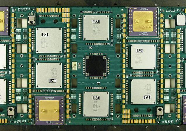 Cray T3E processor board
