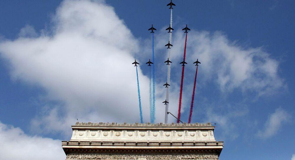 Défilé militaire du 14 juillet 2015 sur les Champs-Elysées