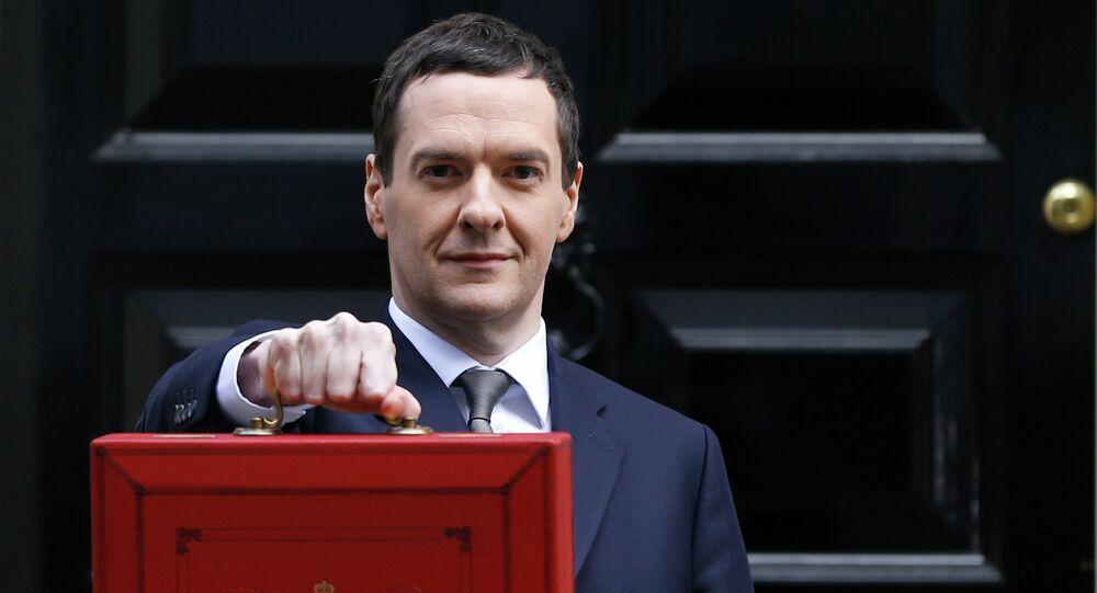 Le ministre britannique des Finances, George Osborne