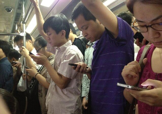 Utilisateurs de smartphones chinois