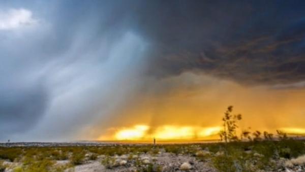 «Time lapse»: tempête au-dessus de Las Vegas - Sputnik France