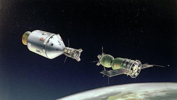 Soyouz-Apollo: début de la collaboration spatiale - Sputnik France