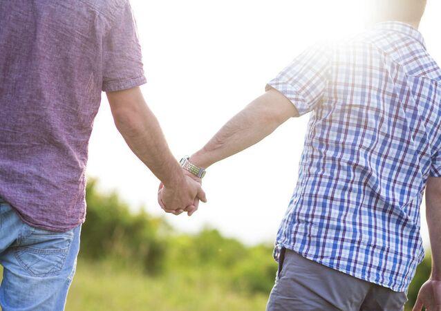un couple gay