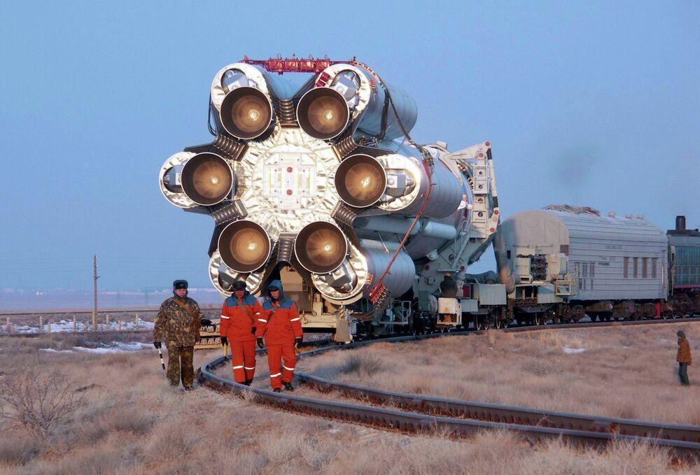 Tirs du lanceur russe Proton