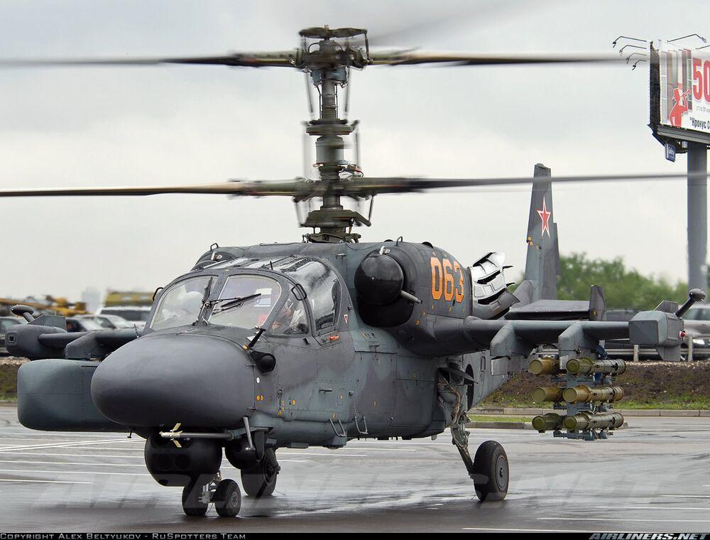 Hélicoptère d'attaque Kamov Ka-52K