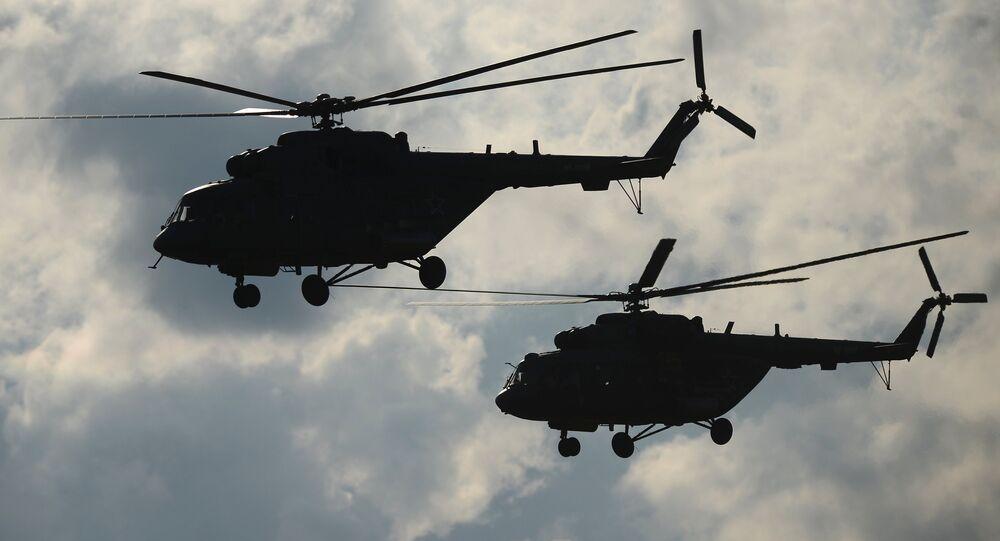 Des hélicoptères russes Mi-8 (archives)