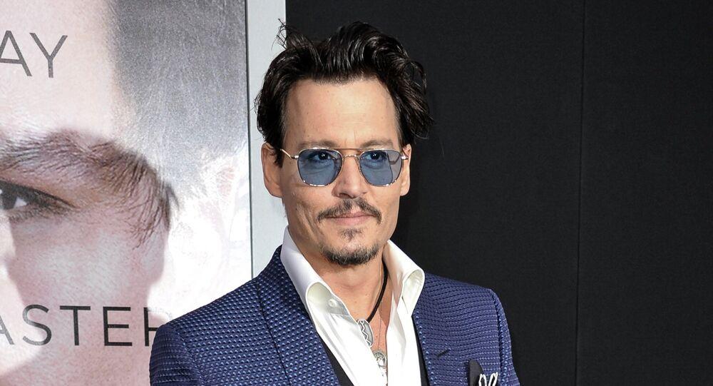 Johnny Depp. Archive photo