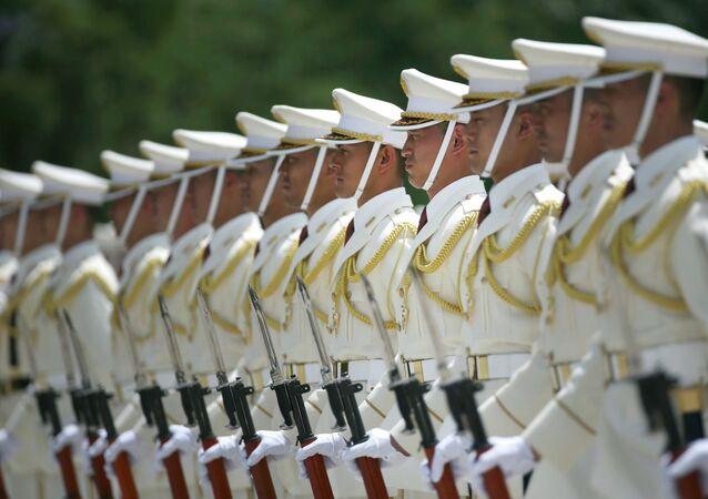 Membres des Forces japonaises d'autodéfense