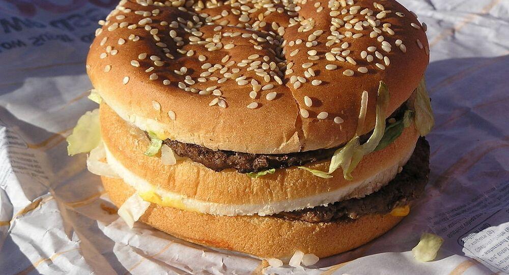 Un Big Mac acheté en Australie