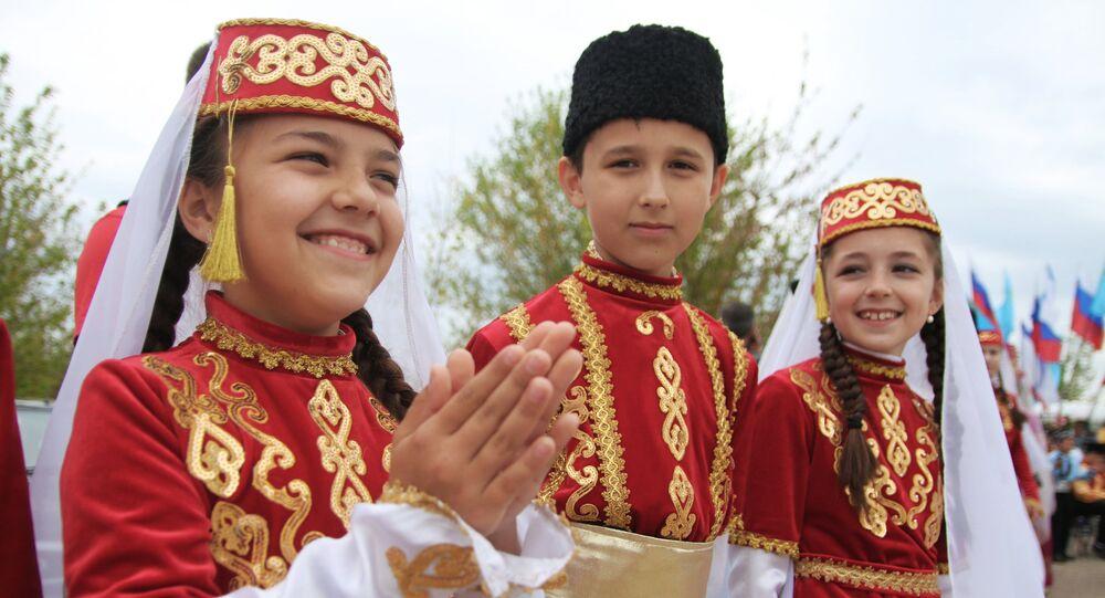 Une fête des Tatars de Crimée