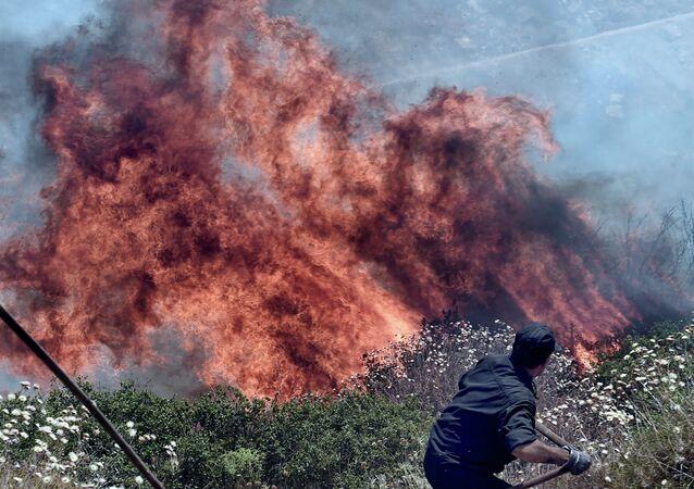 Afrique centrale: de gigantesques incendies détectés par un satellite du NASA