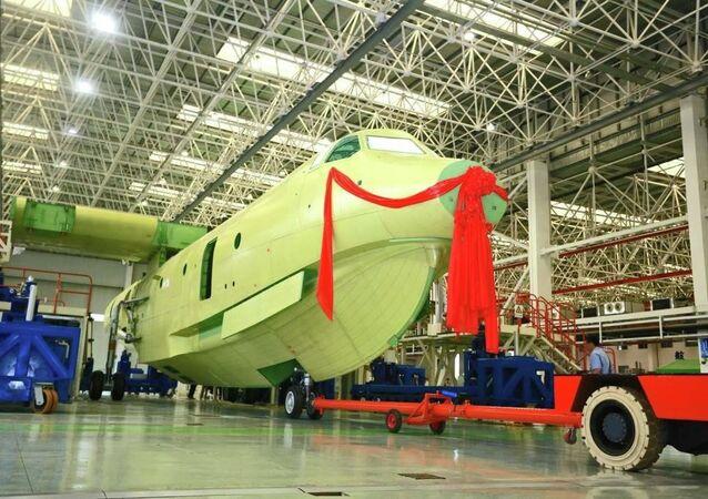 Avion-amphibie chinois AG600