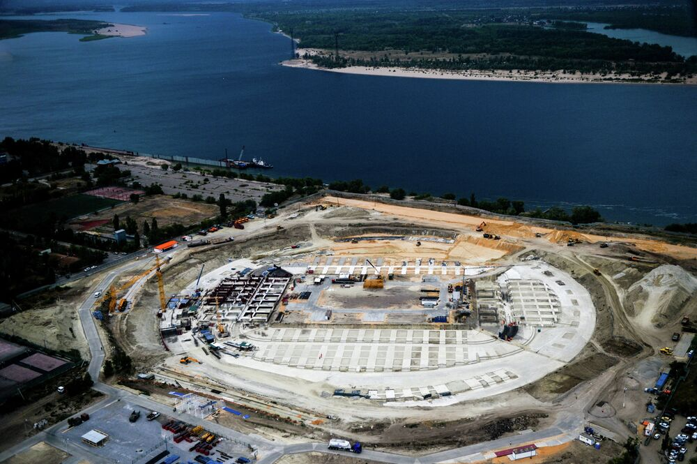 Le futur stade Pobeda de Volgograd, qui hébergera des matches du Mondial 2018, sera construit à la place du stade Tsentralny d'ici 2017