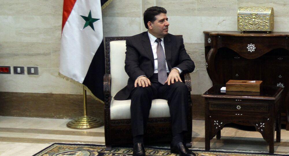 Le premier ministre syrien Wael al-Halki