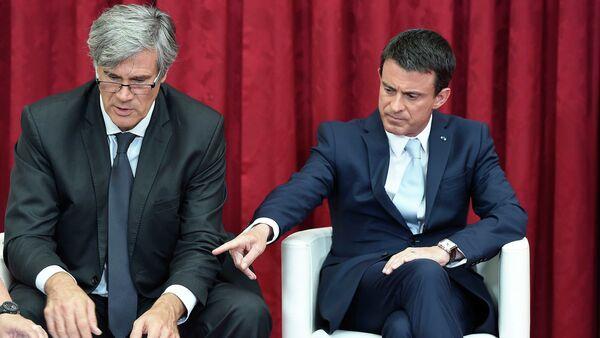 Manuel Valls et Stephane Le Foll - Sputnik France