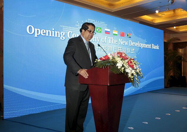 Président de la NBD Kundapur Vaman Kamath, la cérémonie d'inauguration à Shanghai