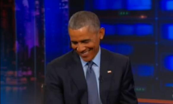 La question qui fait rire Obama