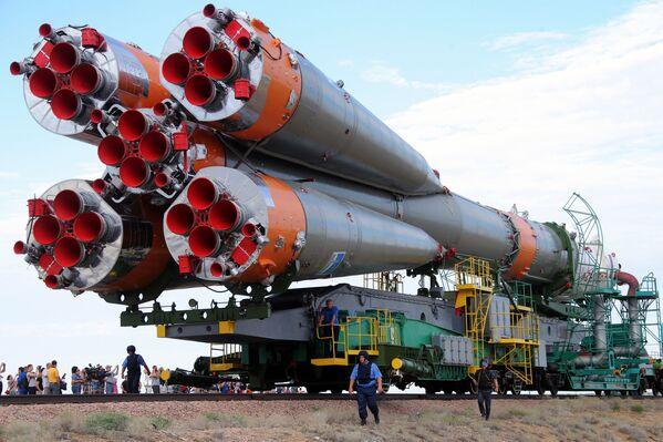 Lancement du vaisseau Soyouz TMA-17M - Sputnik France