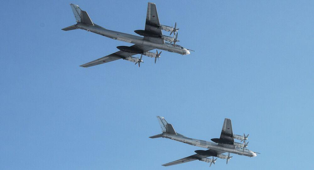 les bombardiers nucléaires à longue portée Tu-95