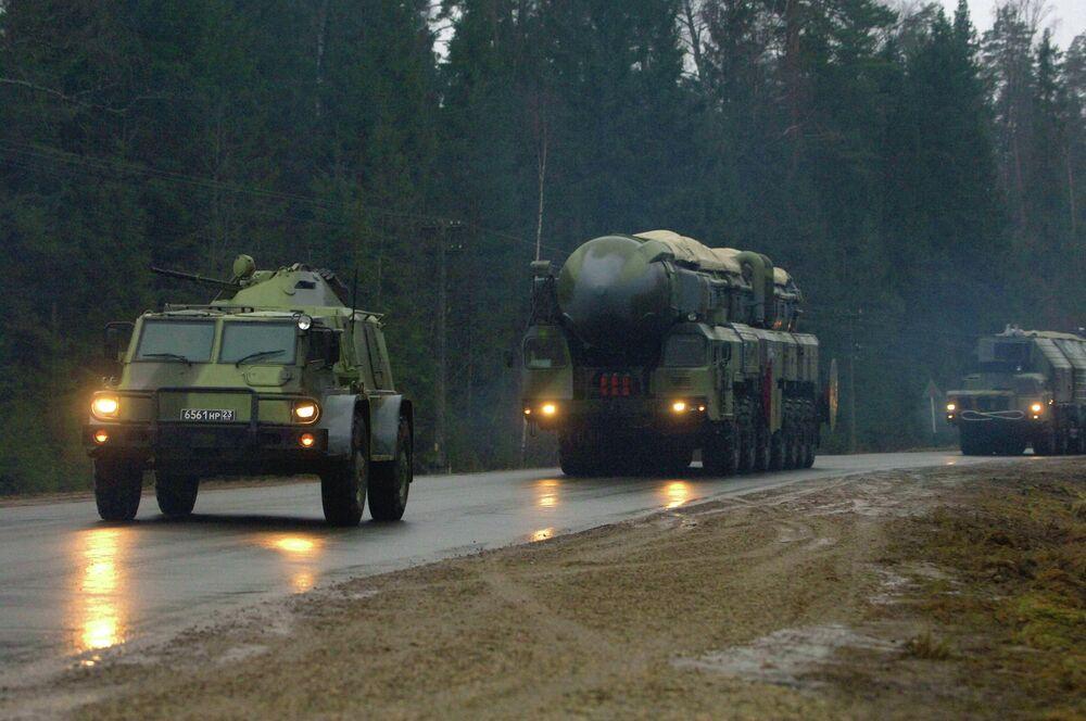 Un système multicouche de protection du missile Topol