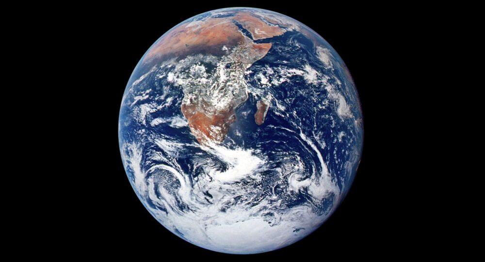 La Terre vue depuis l'espace
