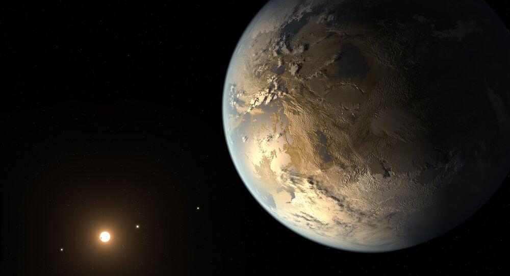 Visualisation Kepler-186f