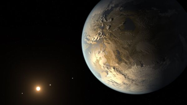 Visualisation Kepler-186f - Sputnik France