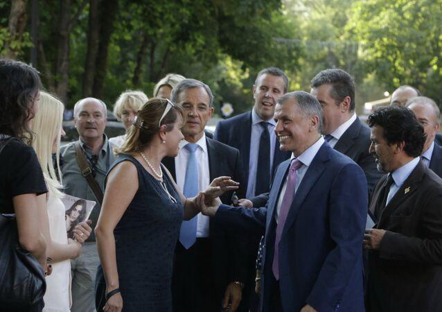 Une délégation de l'Assemblée nationale et du Sénat français en Crimée. Juillet 2015