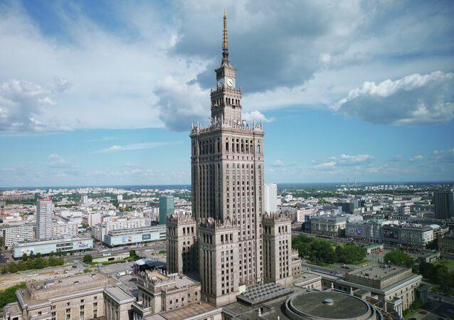Palais de la culture et de la science à Varsovie