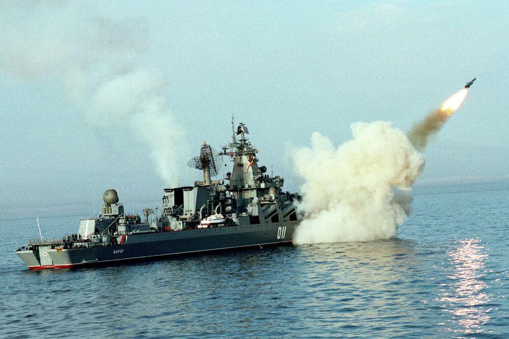 Le croiseur lance-missiles Variag