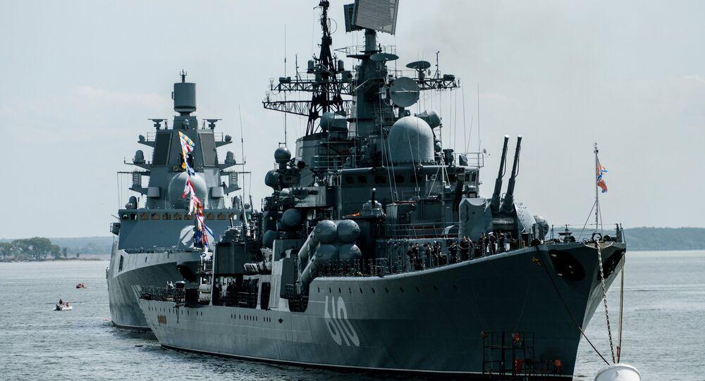 La Flotte de la Baltique fait son retour dans les zones stratégiques de l'Atlantique
