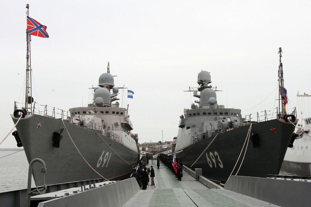 Le destroyer lance-missiles dernier cri Daghestan