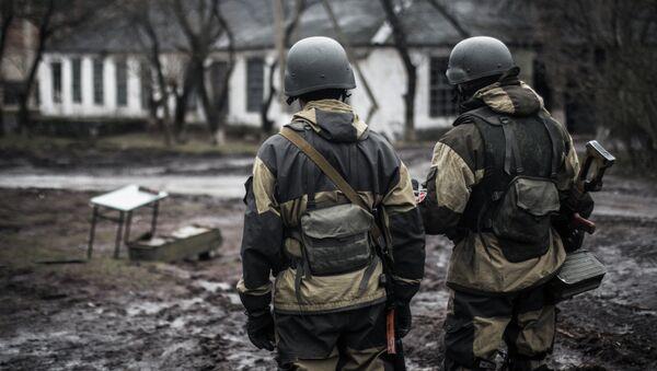 Militia of the DPR in the village of Shirokino - Sputnik France