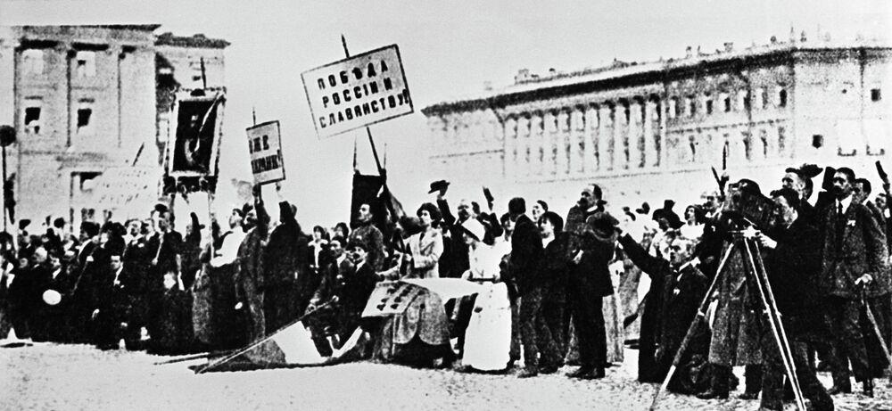 Le début de la Première Guerre mondiale