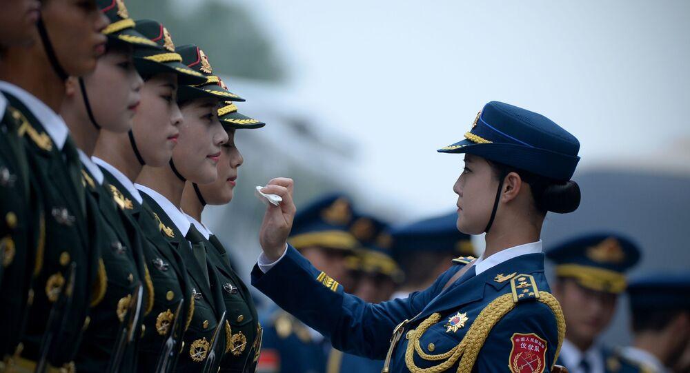 Garde d'honneur chinoise