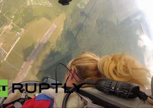 Russie: Svetlana Kopanina, la pilote la plus décorée du monde
